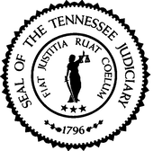 Seal of the Tennessee Judicial