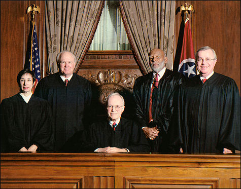 Photos of the Court - 2001